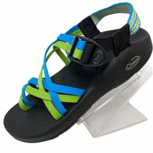 Chaco Celery Blue Yampa Water Sport Sandals 8